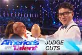 Jeki Yoo Amazes With Hidden Card Trick - America's Got Talent 2017
