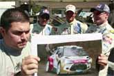 Rally Car Racers Try to Guess Car Engine Sounds Made by Sound Impersonator