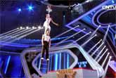 The Impossible Ladder Challenge - China Talent Show